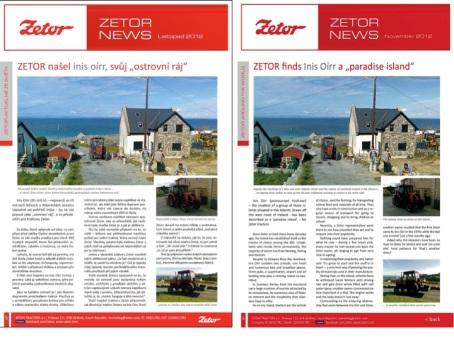Zetor Tractors on Inis Oírr
